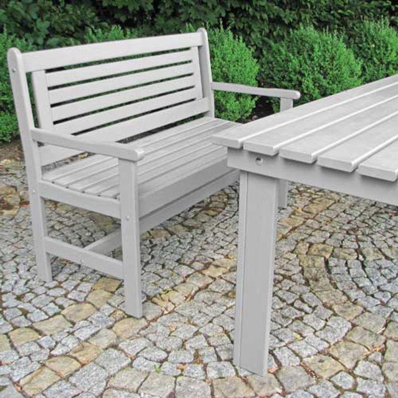 table jardin bois gris - Agencement de jardin aux meilleurs prix