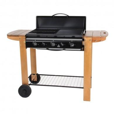 barbecue et plancha au gaz