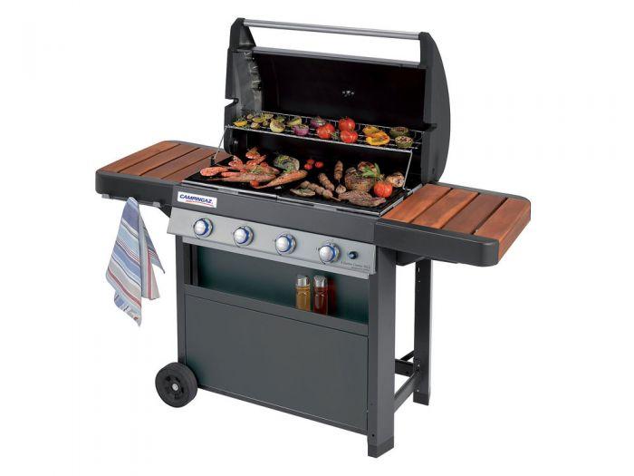 barbecue gaz avec plancha et bruleur