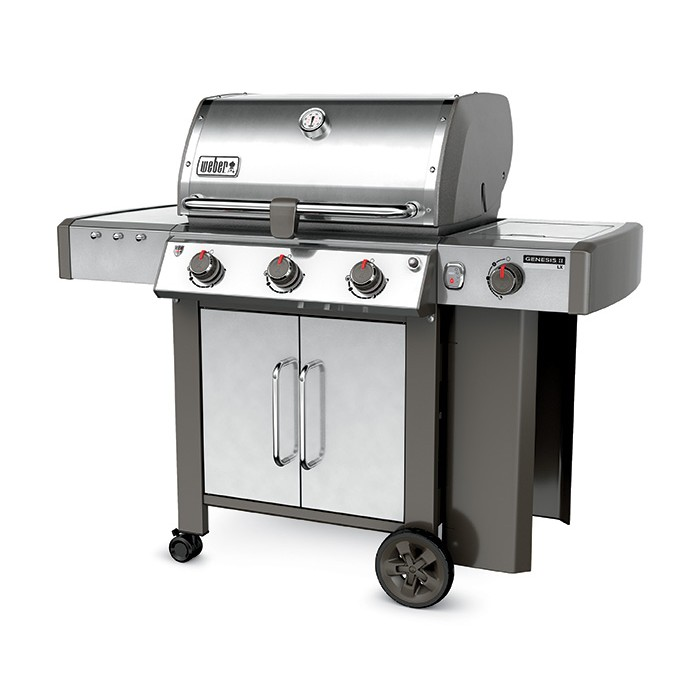 barbecue inoxydable