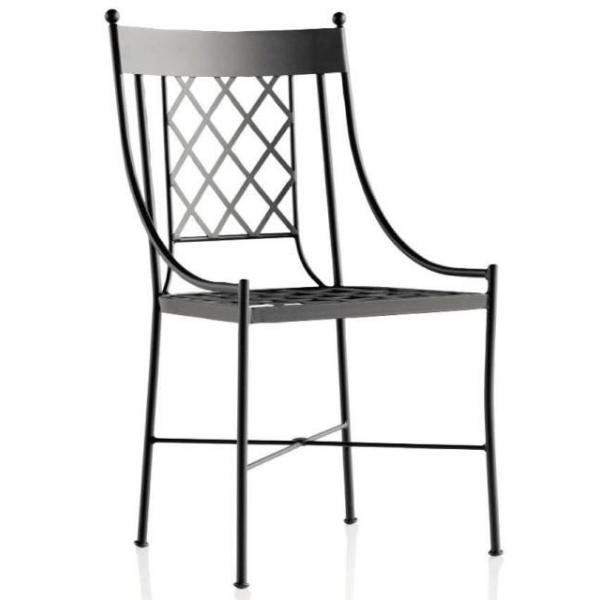 Chaise en fer forge pour exterieur agencement de jardin - Chaise en fer forge pour jardin ...