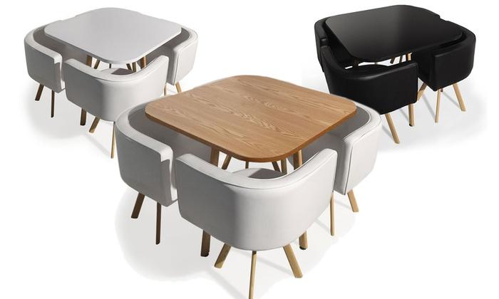 chaise encastrable table - Agencement de jardin aux