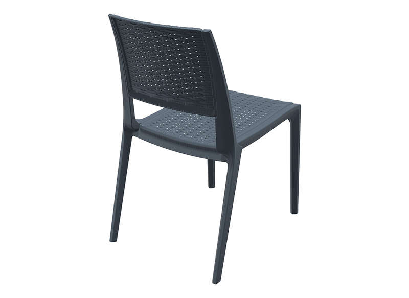 chaise resine tressee