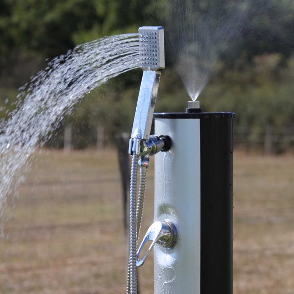 comment fonctionne une douche solaire agencement de jardin aux meilleurs prix