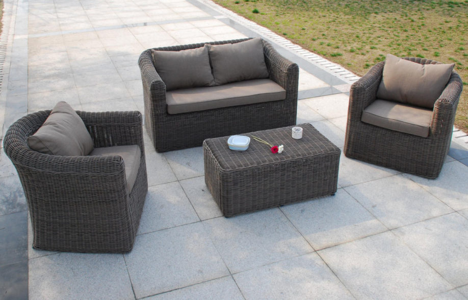 destockage salon de jardin resine tressee - Agencement de ...