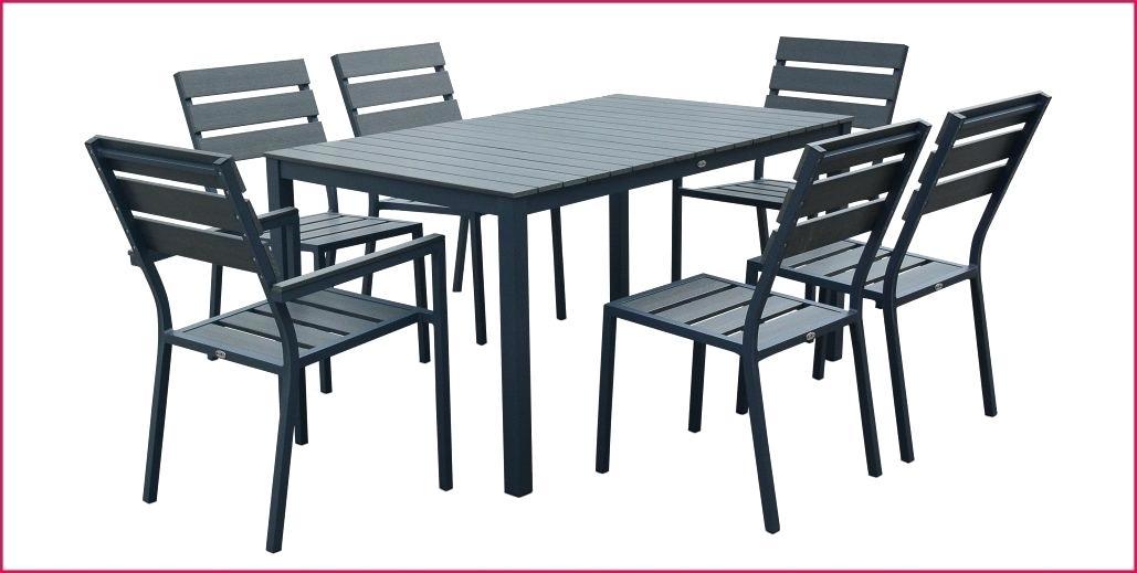 ensemble table et chaises de jardin pas cher - Agencement ...