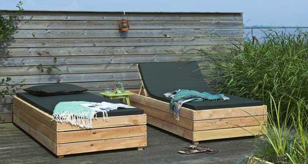 fabriquer son salon de jardin en bois