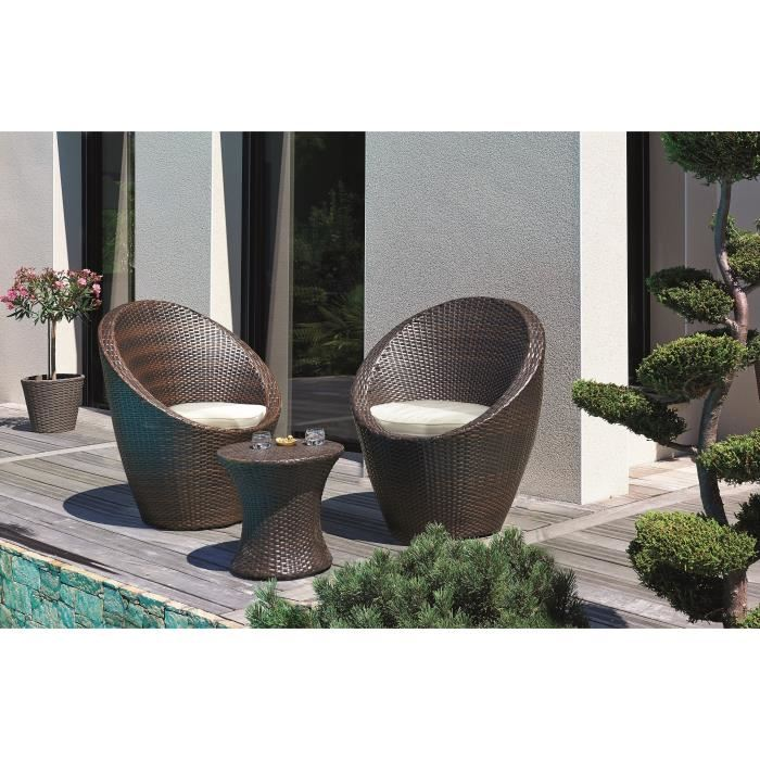 fauteuil riverside wicker line - Agencement de jardin aux ...
