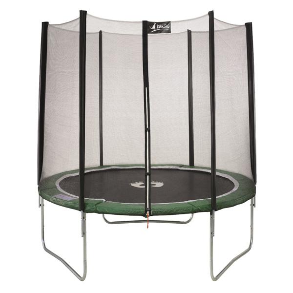 fixation sol pour trampoline