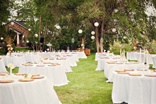 jardin reception