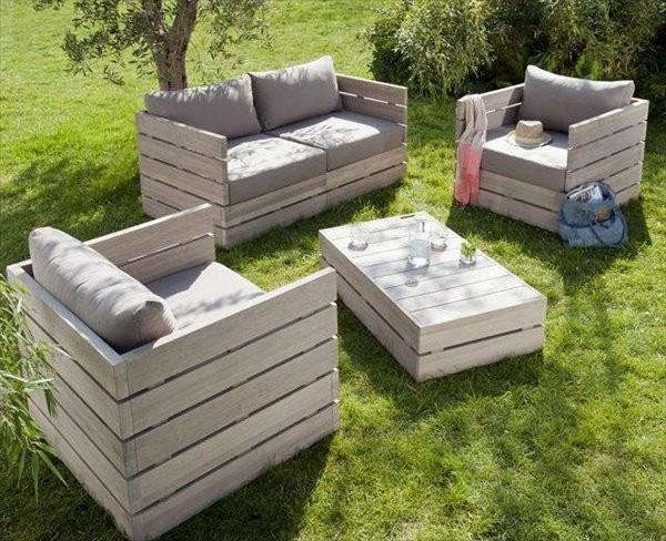 meuble salon de jardin