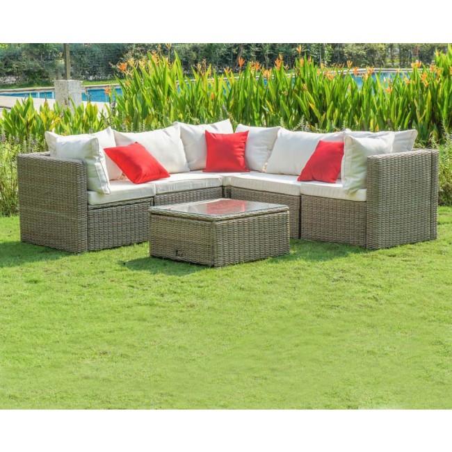 Meubles jardin resine tressee agencement de jardin aux Resine meuble