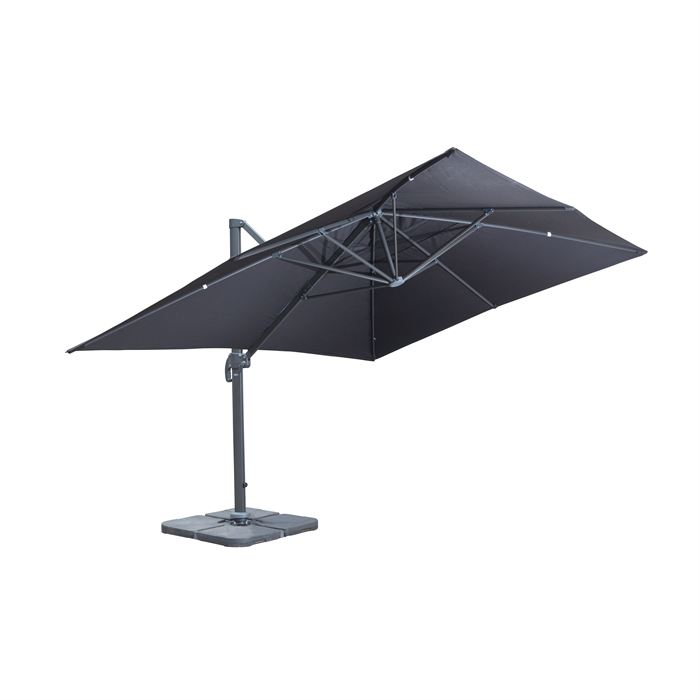 Parasol rectangulaire inclinable 4x3 agencement de - Parasol deporte rectangulaire 4x3 ...