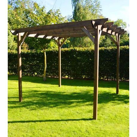 Pergola 3m x 3m agencement de jardin aux meilleurs prix - Agencement jardin ...