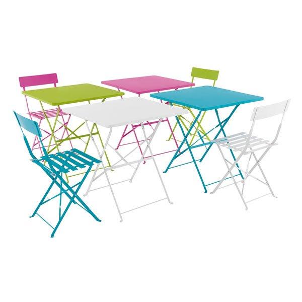 Petite table et chaise de jardin pas cher agencement de - Table de jardin tresse pas cher ...
