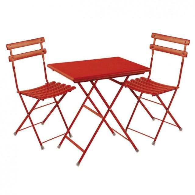 Petite table exterieur pas cher agencement de jardin aux - Table de jardin tresse pas cher ...