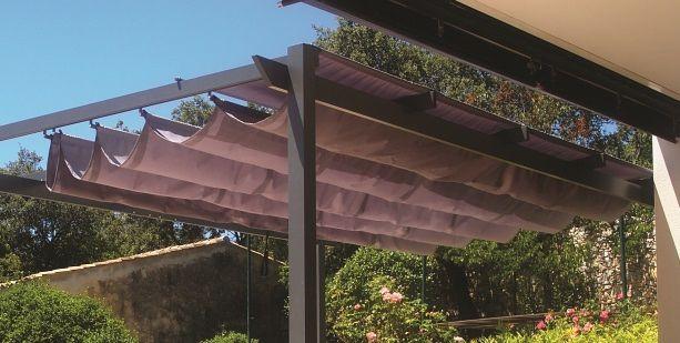 rideau coulissant pour pergola - Agencement de jardin aux meilleurs prix