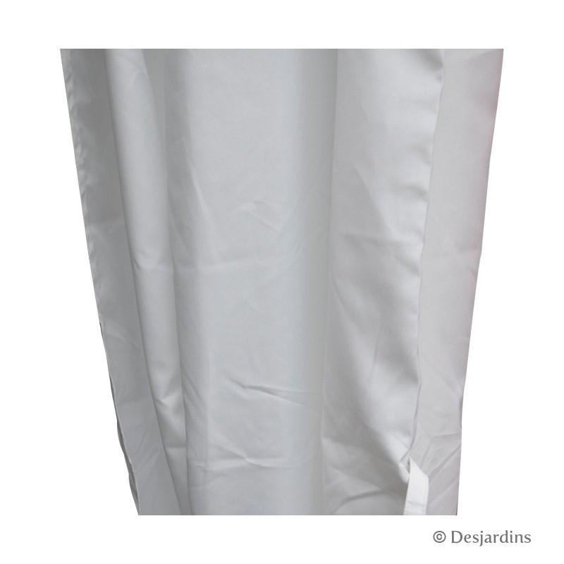 rideau tonnelle blanc