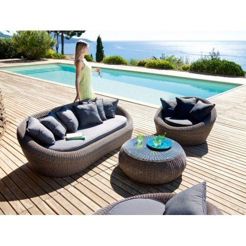 salon de jardin java gris - Agencement de jardin aux ...