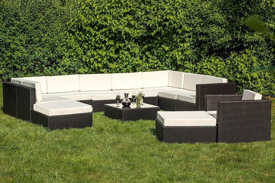 salon de jardin naevia en aluminium - Agencement de jardin ...