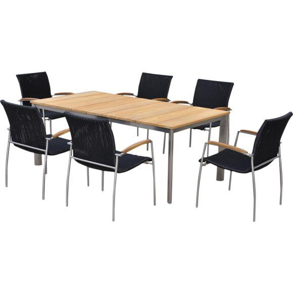 salon de jardin table et chaise pas cher agencement de. Black Bedroom Furniture Sets. Home Design Ideas