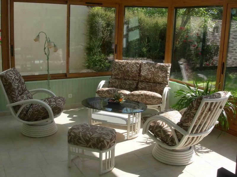 salon en rotin pour veranda - Agencement de jardin aux meilleurs prix