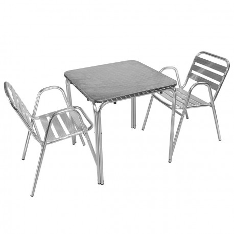 table aluminium exterieur