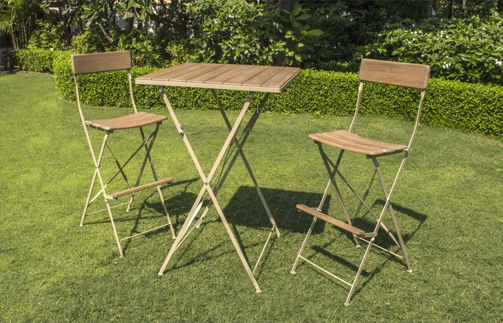 table de jardin en fer pas cher