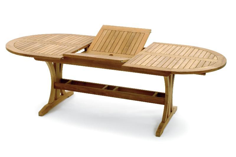 table de jardin ovale - Agencement de jardin aux meilleurs prix