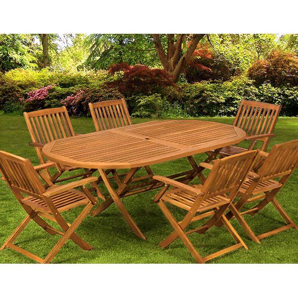 Table de jardin pas chere en bois agencement de jardin - Table plus chaise de jardin pas cher ...