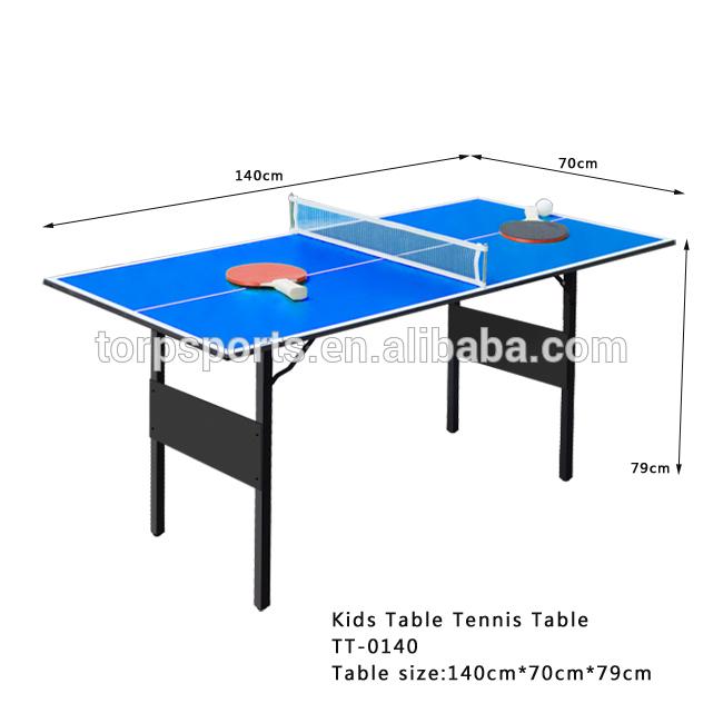 table de tennis de table dimensions