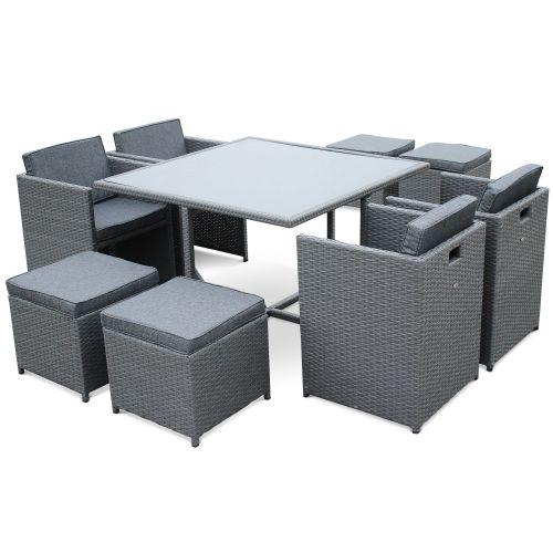table encastrable resine