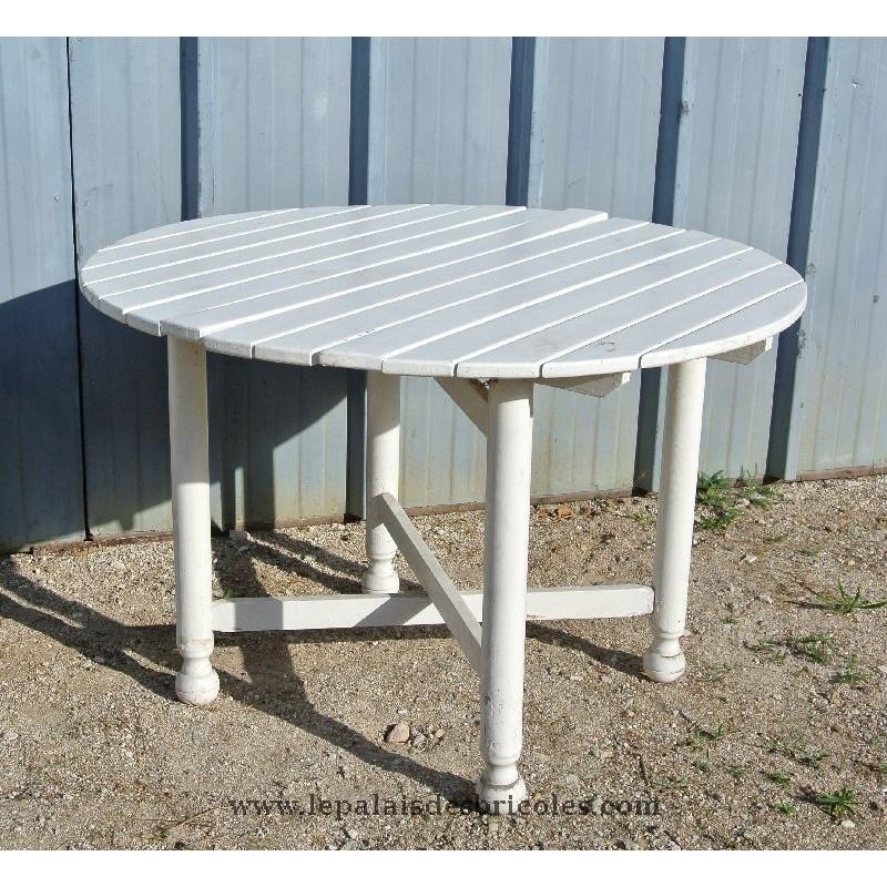 table jardin en fer pliante - Agencement de jardin aux ...