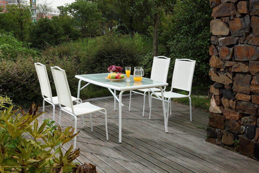 table jardin plateau verre - Agencement de jardin aux ...