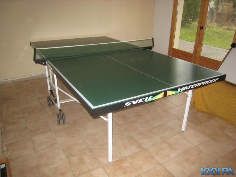 table ping pong alu  agencement de jardin aux meilleurs prix