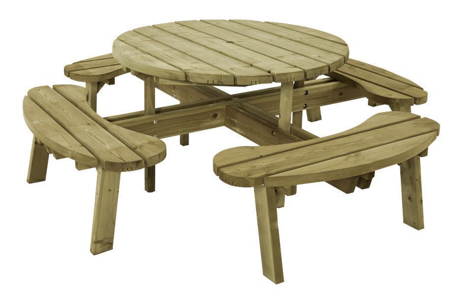 table pique nique bois autoclave - Agencement de jardin aux ...