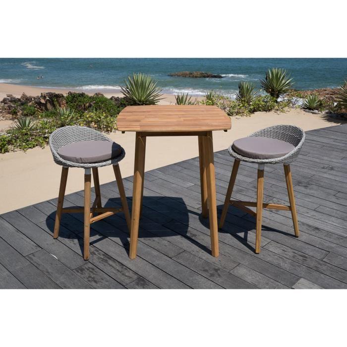 table pour exterieur pas cher agencement de jardin aux. Black Bedroom Furniture Sets. Home Design Ideas