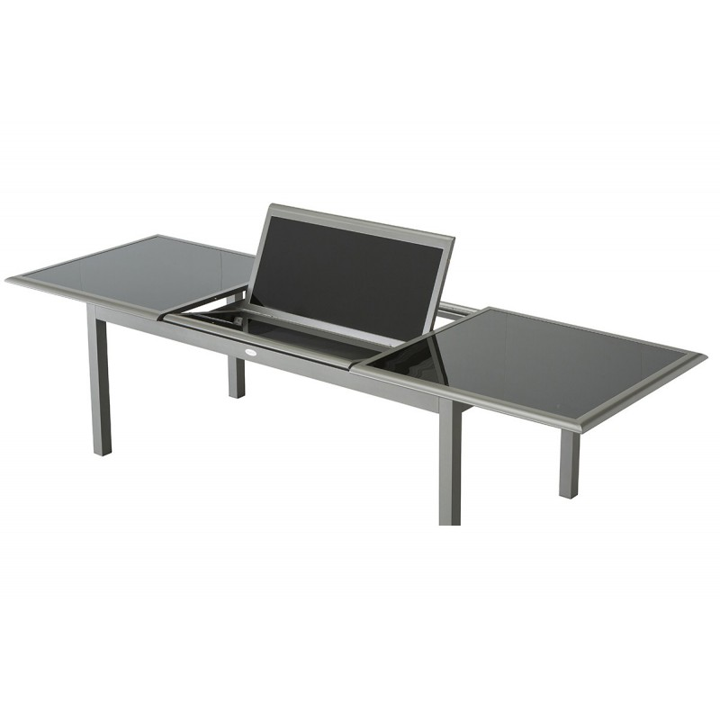 table rallonge papillon aluminium et composite - Agencement ...