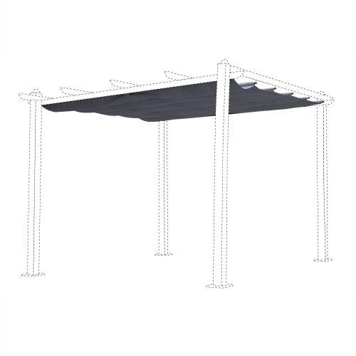 toile de toit pour tonnelle 3x3m