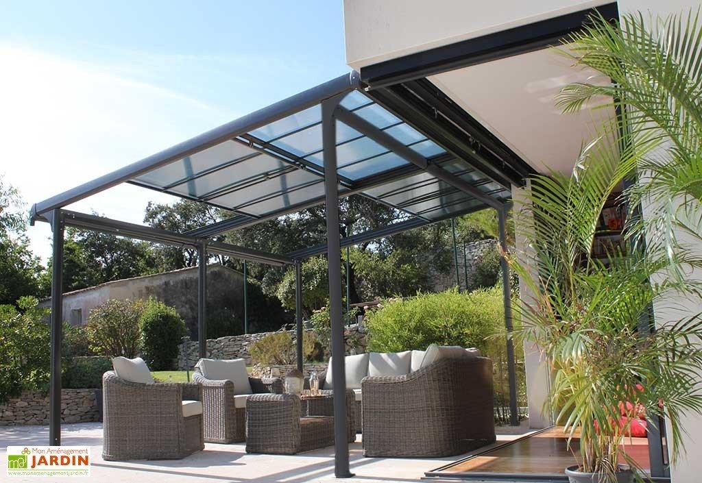 tonnelle toit coulissant - Agencement de jardin aux ...