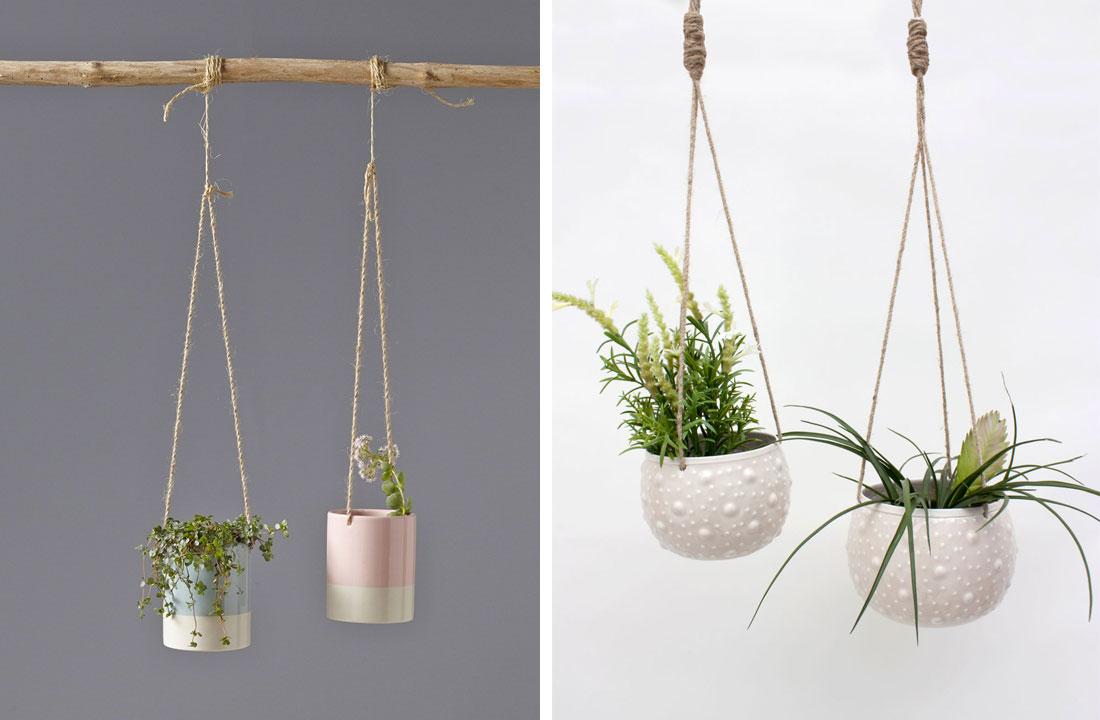 suspension pour plantes - Agencement de jardin aux meilleurs prix